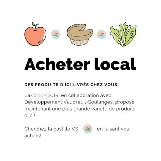 Acheter local