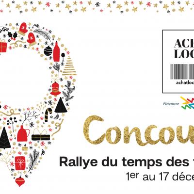 (Fr) Communiqué | Vaudreuil-Soulanges en mode rallye pour encourager l'achat local lors du magasinage des fêtes